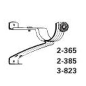 Graber Cafe rod bracket 7/16 inch adjustable bracket