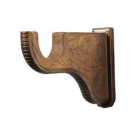 2 inch wood pole bracket for 2 inch wood pole, by Kirsch