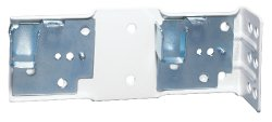 "Double curtain rod bracket returns 5.5 and 6.5"", by Kirsch"