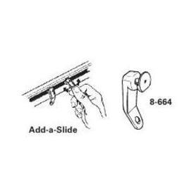 Graber Add-a-Slide for curtain rods